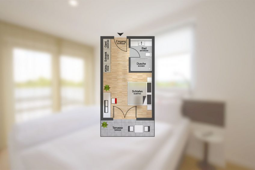 Komfort K-Apart Hotel und Boardinghouse Hürth bei Köln