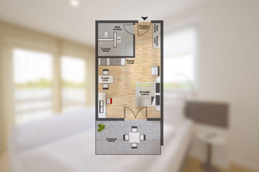 Maxi Apart 1706 – K-Apart Hotel und Boardinghouse Hürth bei Köln