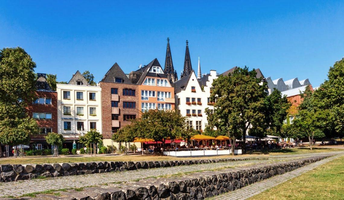 Sommerlicher Stadtbummel in Köln